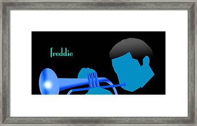 Blue Hub Framed Print by Victor Bailey