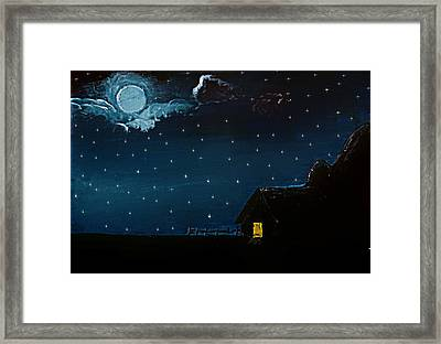 Blue In Its Most Royal Shade Framed Print by Sanjay Avasarala