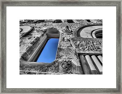 Blue Framed Print by JC Findley