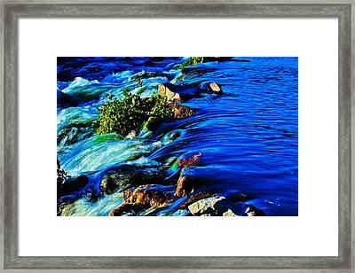 Blue Framed Print by Joshua Dwyer