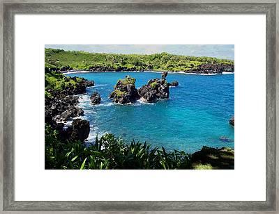 Blue Lagoon Framed Print by Sean McDaniel