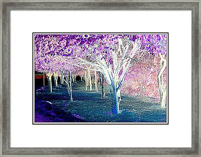 Blue  Landscape-3 Framed Print by Anand Swaroop Manchiraju