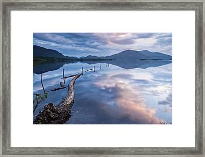 Blue Moment Framed Print by Brendan O Neill
