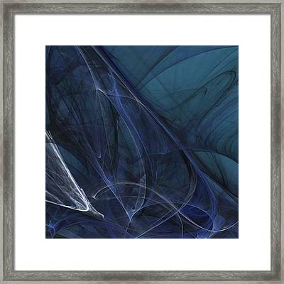 Blue Monsoon Framed Print
