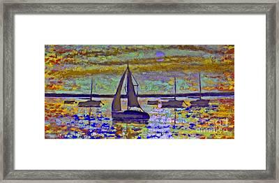 Blue Moon Framed Print by Kip Decker