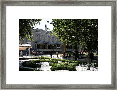 Blue Mosque I - Istanbul Framed Print by Christiane Schulze Art And Photography