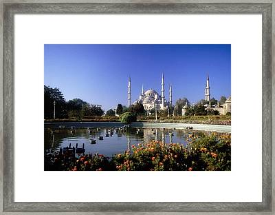 Blue Mosque, Sultanahmet, Istanbul Framed Print by The Irish Image Collection