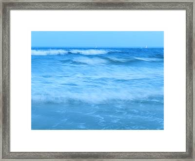 Blue Paradise Framed Print by Debra Webb