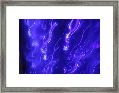 Blue Part 1 Framed Print by Artist Orange