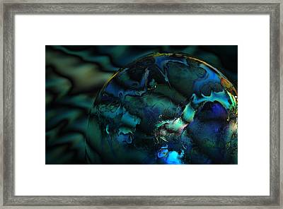 Blue Planet Framed Print by Sandra Sigfusson