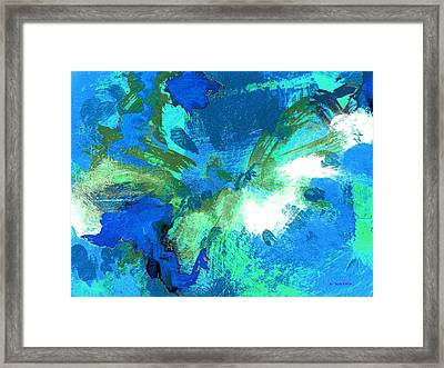 Blue Resonance Framed Print by Charles Yates