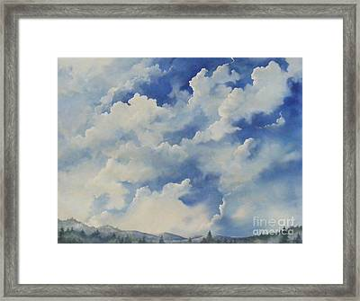 Blue Ridge Vista...sold  Framed Print