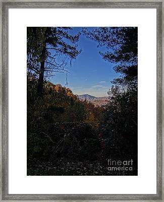 Blue Ridge13 Framed Print by Steven Lebron Langston