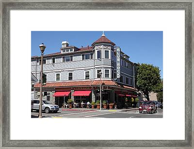 Blue Rock Inn - Larkspur California - 5d18478 Framed Print by Wingsdomain Art and Photography
