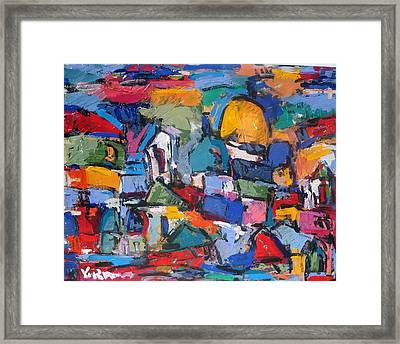 Blue Rome Framed Print