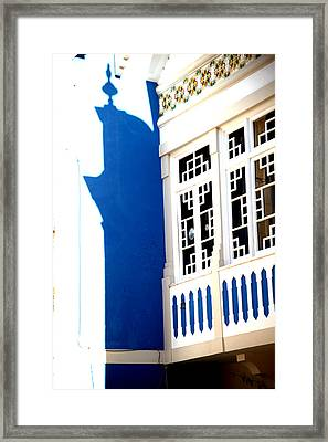 Blue Shades Framed Print by Jez C Self