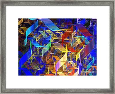 Blue Shift Framed Print by Kim Sy Ok