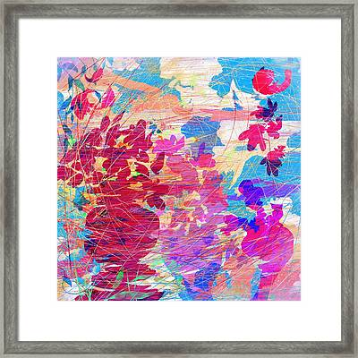 Blue Skies And Magic Pots Framed Print by Rachel Christine Nowicki