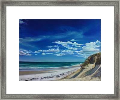 Blue Sky Walk Framed Print by Laura Balboni Craciun