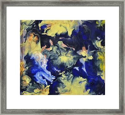 Blue Storm Framed Print by Brenda Chapman