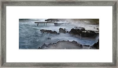 Blue Storm..protaras Framed Print