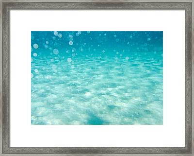 Blue Framed Print by Stelios Kleanthous