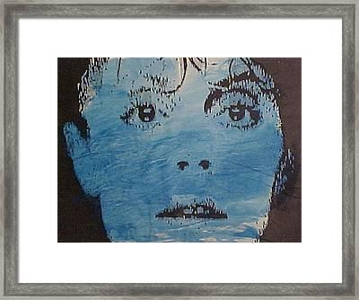 Blue Susan Framed Print