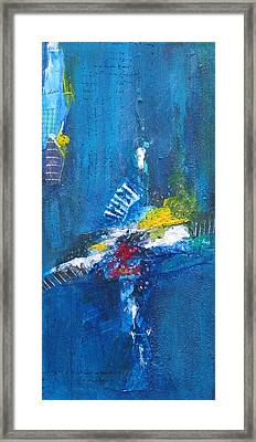 Blue Thunder Framed Print