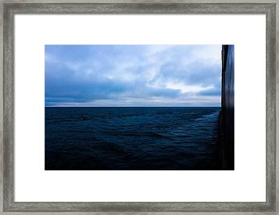 Blue Framed Print by Tim  Telep