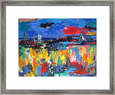 Blue Toscano 03 Framed Print
