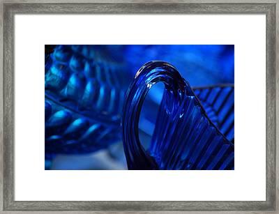 Blue Wave Framed Print by Eamon Forslund