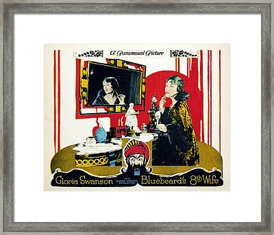 Bluebeards Eighth Wife, Gloria Swanson Framed Print