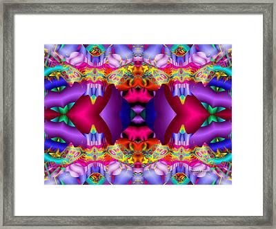 Blueberry Ice Framed Print by Robert Orinski