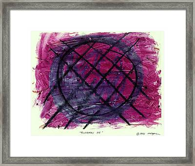 Blueberry Pie Framed Print by Patrick Morgan