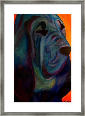 Blueblood I Framed Print by Laura  Grisham