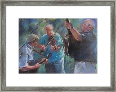 Bluegrass Blast Framed Print