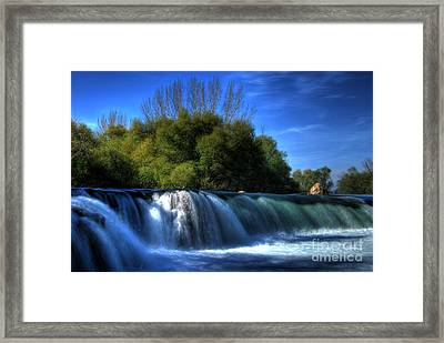 Blues Framed Print