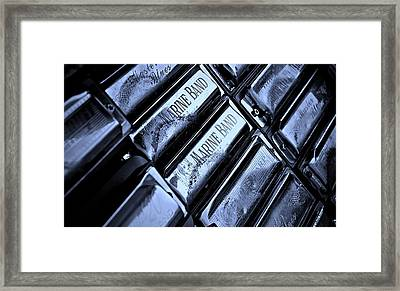 Blues Harps  Framed Print by Chris Berry