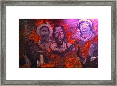 Blues Origin Framed Print by Richard  Hubal