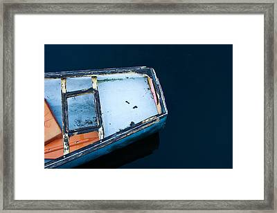 Blues Framed Print by Ron St Jean
