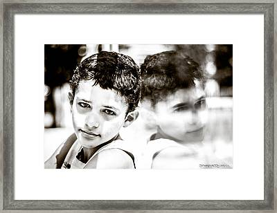 Framed Print featuring the photograph Blurred Thoughts by Stwayne Keubrick