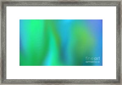Bluzul Vergreen  Framed Print by Rosana Ortiz