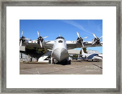 Boac British Overseas Airways Corporation Speedbird Flying Boat . 7d11246 Framed Print by Wingsdomain Art and Photography