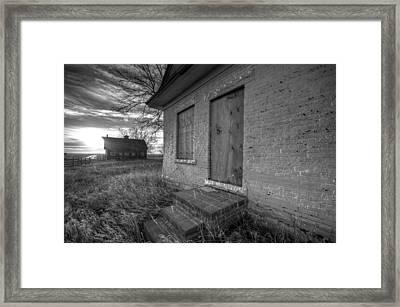 Boarded Up Framed Print by Shane Linke