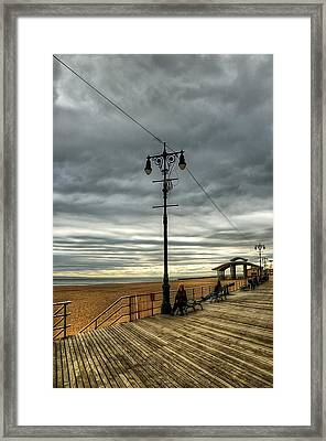 Boardwalk Brooklyn03 Framed Print