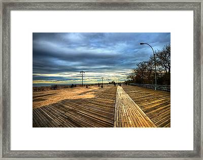 Boardwalk Brooklyn05 Framed Print