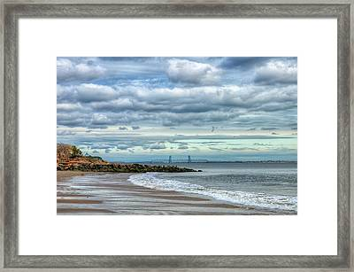 Boardwalk Brooklyn06 Framed Print