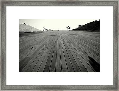 Boardwalk Dreams Framed Print by Dean Harte