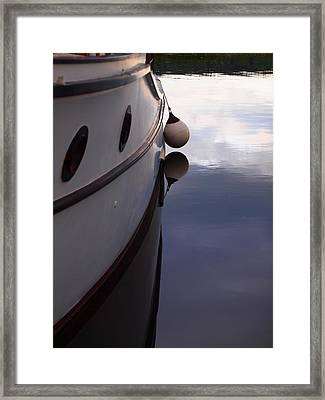 Boat At Rest 1 Framed Print by Jim Moore