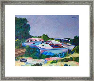 Boat Dreams Framed Print